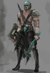 Gladiador magiko by yusefth