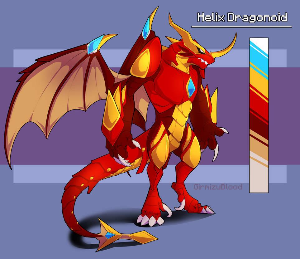 bakugan coloring pages helix dragonoid - photo#41