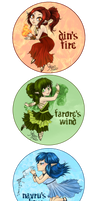 +Goddesses of Hyrule+ by nayruasukei