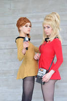Captain and Yeoman by Emmaliene