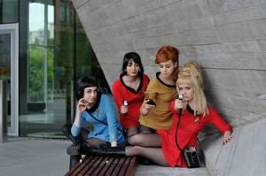 Women of Starfleet by Emmaliene