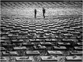 Terezin Cemetery by ioanabranisteanu