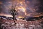 Holbav Sunset - Mountain Magic by ioanabranisteanu
