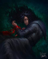 Little Yennefer by Risel