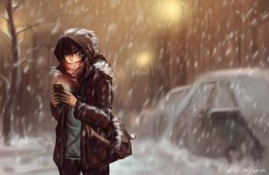 sp0216 - First snow by Enijoi