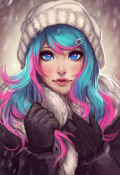 Winter Amber by Enijoi