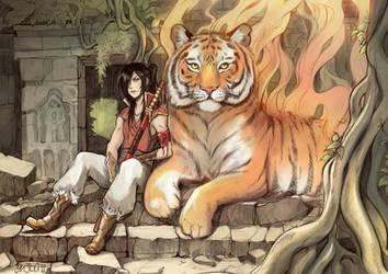 Fire Tiger by Enijoi