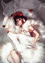 Princess Mononoke by Enijoi