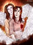 The angel of a heartbroken girl by SeaCat2401