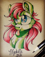 New sketchbook! by Mychelle