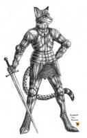 Enorach the Knight by LieutenantHawk