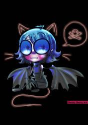 Nimue Cat by CheekyCherryArt