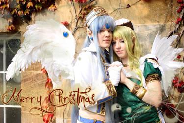 Merry Angelic Christmas by Devilish0Kisa