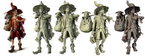 RiceWind Character by klicek