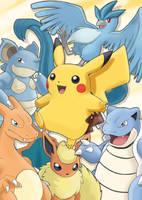 Pokemon Team Yellow by Emm456