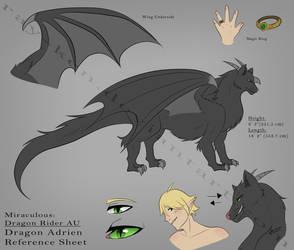 Dragon Adrien Reference (Dragon Rider AU) by Ray-Ken