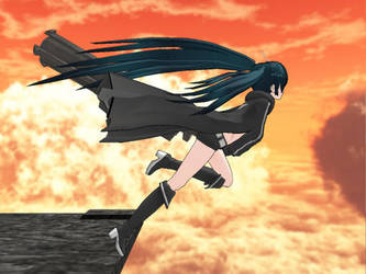 Anime Ver BRS - MMD Side View by firstfuturesound