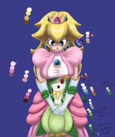 Peach and Lilligant Colored by Rolling-Naya