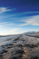 Frozen Road by monkeyheadmushroom