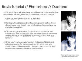 Tutorial - Duotone by larafairie-stock