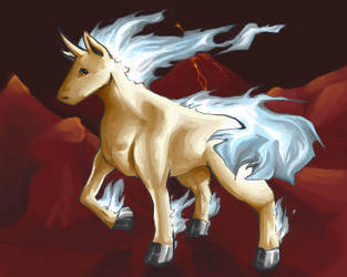 Shiny Rapidash by teraphim
