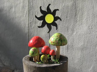 Mushrooms dA W.O.A. by JAV1966