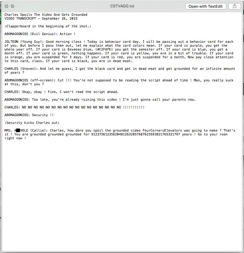 Unreleased Goanimate Video Transcript By Pacfan881 On Deviantart