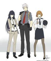 SMT Persona Police Force by Kagekara-Soul