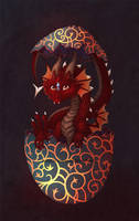 Dragon Egg by Blacklotuscomic