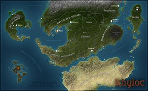 Project Rhyloc - Map by Deydranos