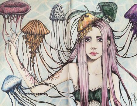 Free as Jellyfish by handegozen