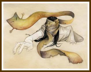 Yokai: Ittan-momen by niban-deidara-n-chan