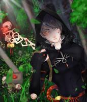 Hot magic-Black magician by ResVeeF
