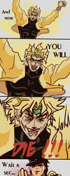 Bowsette plus JoJo = I don't know what i do by ResVeeF
