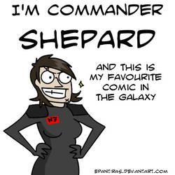 I'm commander Shepard... by Epantiras
