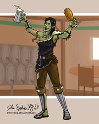 Bane's best friends... by Epantiras