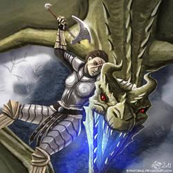 The Haughty Dragon by Epantiras