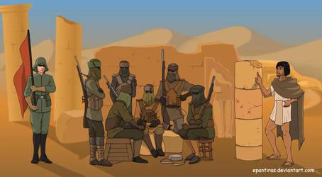 Commission - Vizerite desert by Epantiras