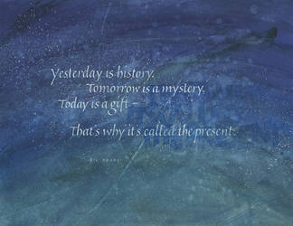 Yesterday is History ... by isolationism