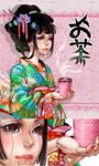 Green Tea by CosmicSpectrumm