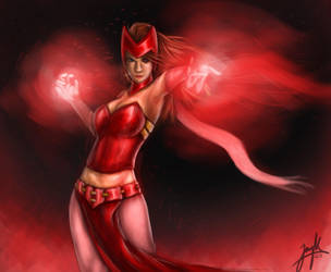 Scarlet Witch by JayKLegendary