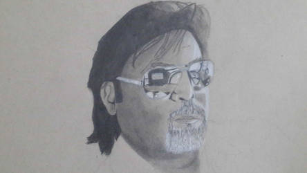 A portrait of my dad!! by SafeerRAZA123