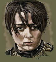 Arya by RedSaucers