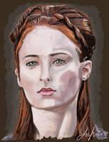 Sansa by RedSaucers