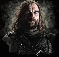 The Hound by RedSaucers