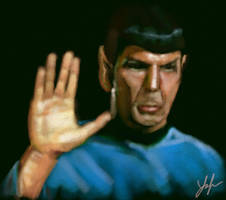 Spock by RedSaucers