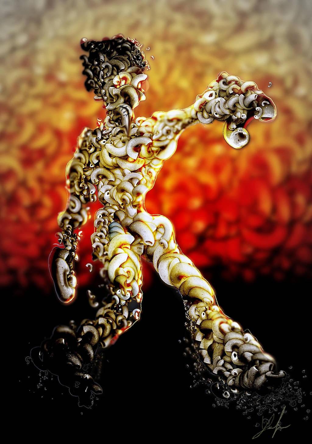 Macaroni Man by RedSaucers