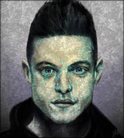 Mr Robot by RedSaucers