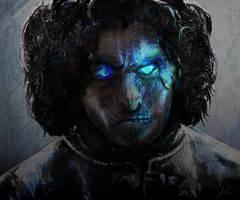 White Walker Jon Snow by RedSaucers