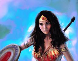 Wonderwoman by RedSaucers